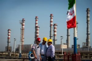 Iran's Oil Production rises as they install new platform