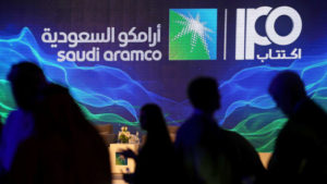 Saudi Aramco prices shares at top of range in world's biggest IPO