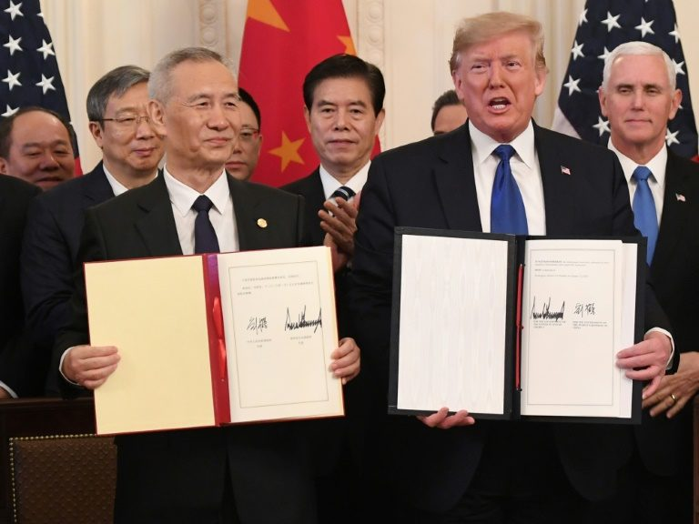 US, China sign 'momentous' trade deal after 2 years of conflict